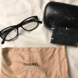 Authentic Chanel reading glasses